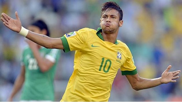 Confederations Cup - No protesting about Neymar's talent