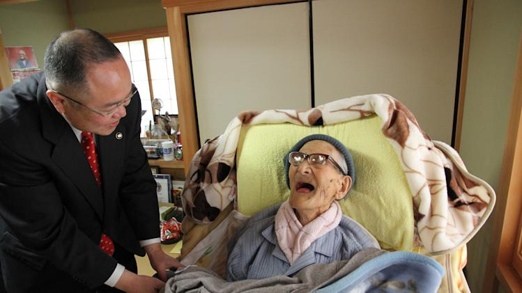 World's Oldest Person Jiroemon Kimura Turns 116