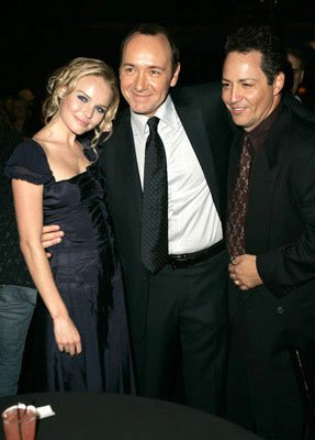 Premiere: Kate Bosworth, Kevin Spacey and Dodd Darin, Bobby's son, at the 2004 AFI Film Fesitval premiere of Lions Gate Films' Beyond the Sea - 11/4/2004