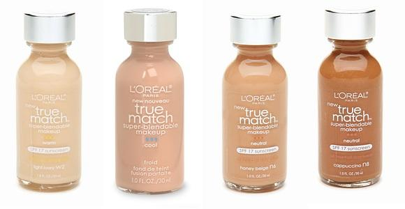 True Match L'Oreal Super Blendable Makeup, $8.99, ulta.com