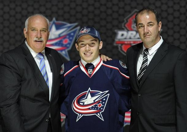 Columbus Blue Jackets first round pick Marko Dano
