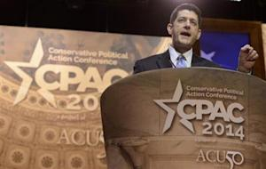 Rep. Paul Ryan attends Conservative Political Action Conference in Oxon Hill