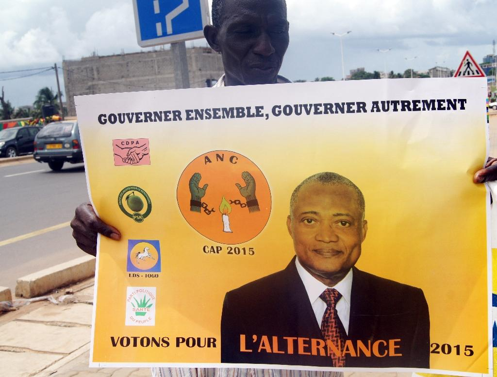 Togo's Gnassingbe favourite to win third term in presidential vote