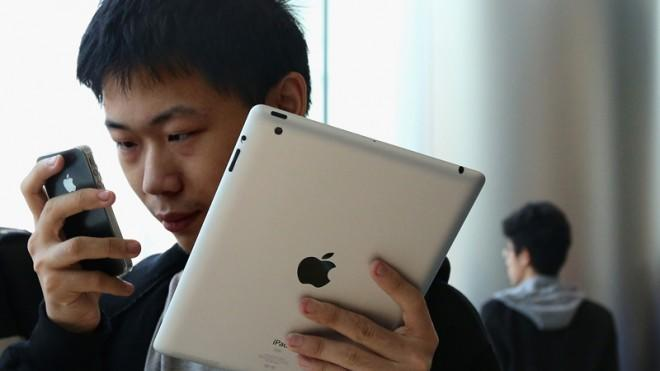 China is one of Apple's fastest-growing markets.