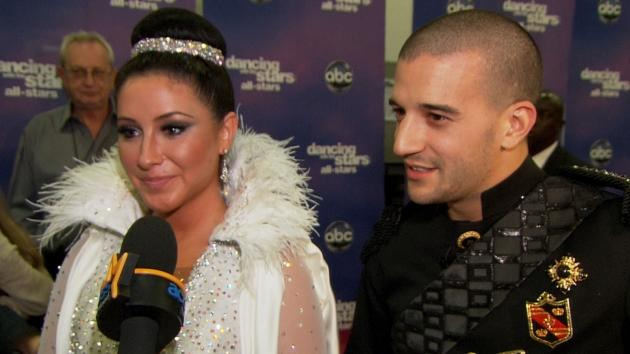 Bristol Palin and Mark Ballas chat with Access Hollywood on October 8, 2012 -- Access Hollywood