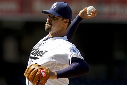 Padres' Suppan wins first game since 2010