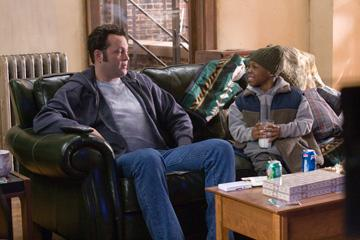 Vince Vaughn and  Bobb'e J. Thompson in Warner Bros. Pictures' Fred Claus