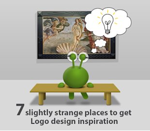 Logo Design Inspiration: 7 Slightly Strange Places to Get Logo Design Inspiration image logo design inspiration