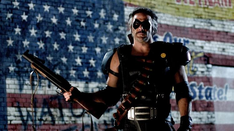 Jeffrey Dean Morgan Watchmen Production Stills Warner Bros. 2009 CLONE