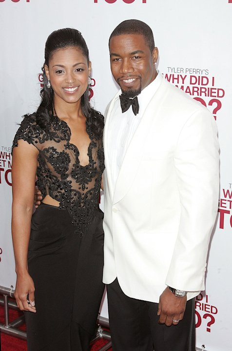Tyler Perry's Why Did I Get Married Too? Ny Premiere 2010 Michael Jai White