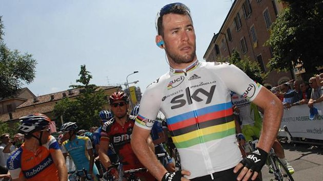 2012 Giro d'Italia Mark Cavendish