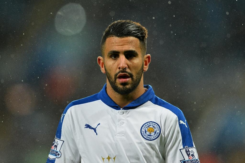 Leicester City's Riyad Mahrez thumbs nose at England's elite
