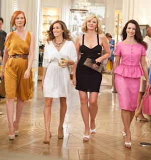 Cynthia Nixon, Sarah Jessica Parker, Kim Cattrall and Kristin Davis in 'Sex and The City 2' -- New Line Cinema