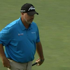 Boo Weekley's tee shot sets birdie at Deutsche Bank