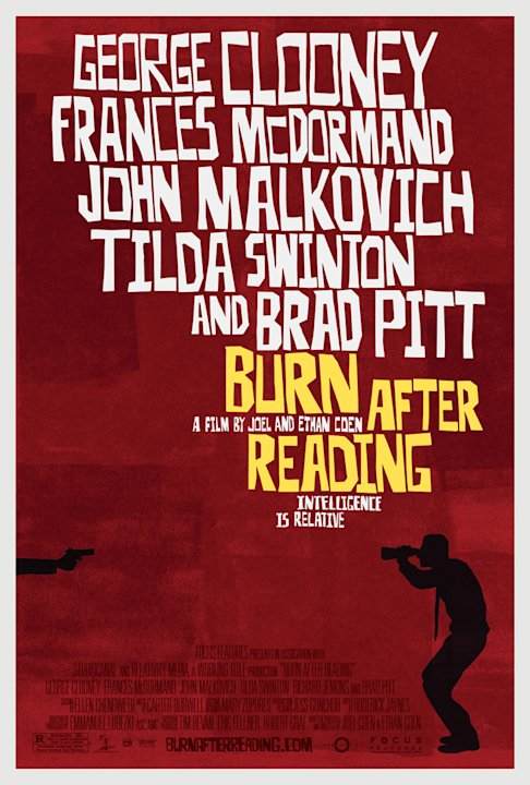 Poster Burn After Reading Production Stills Focus Features 2008