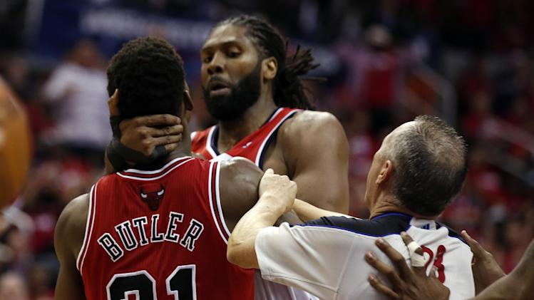 Nene suspended for Wizards-Bulls Game 4 after altercation with …