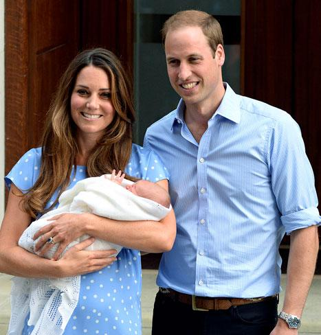"Kate Middleton, Prince William ""Doing Absolutely Brilliantly"" as Parents to Prince George, Kate's Uncle Says"