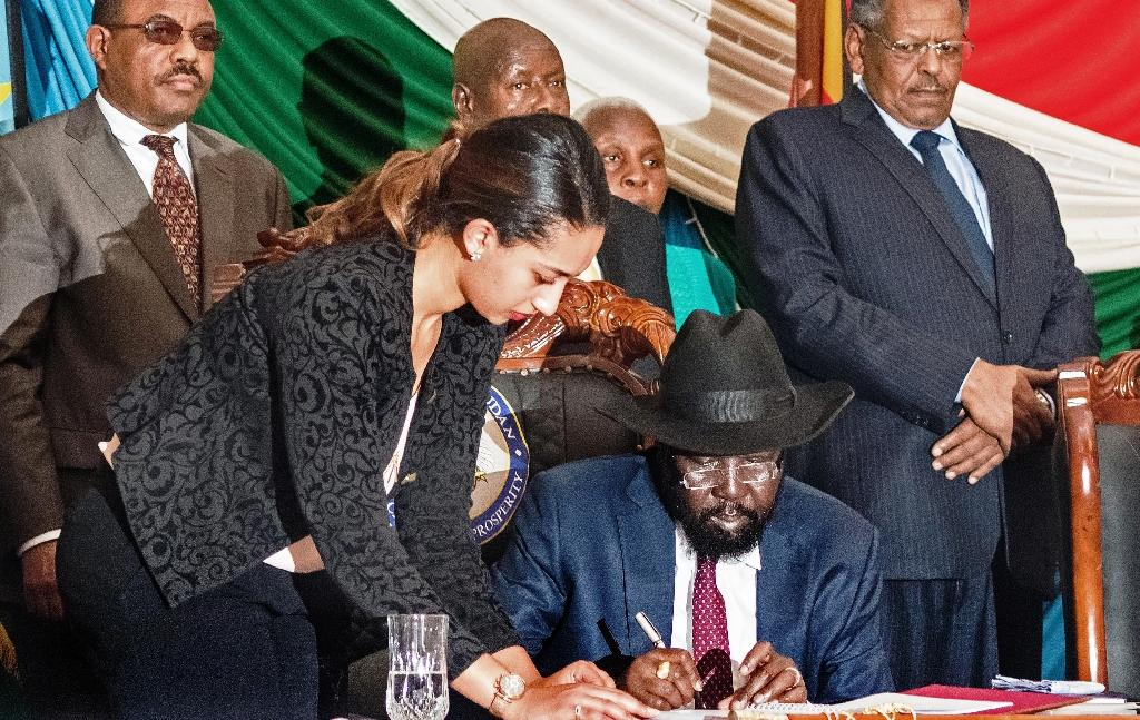 White House warns S.Sudan's Kiir over peace deal 'reservations'