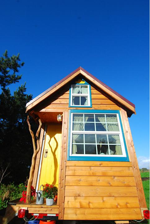 Little Yellow Door House