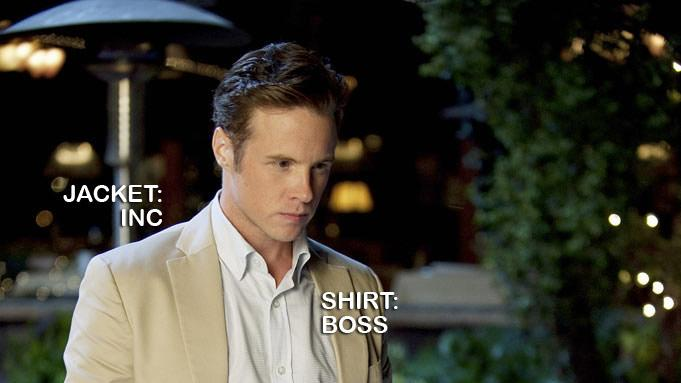 "Ashton Holmes as Tyler Barrol in the Season 1 episode ""Intrigue."" Revenge"