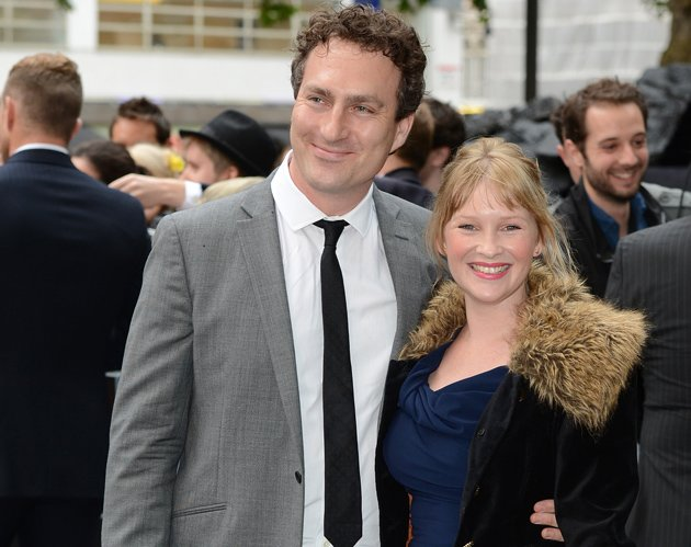 Joanna Page and husband James Thornton