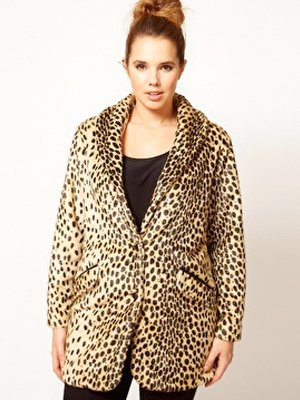 ASOS Leopard Coat