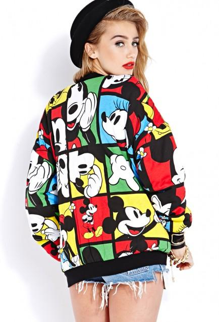 Oh Mickey Bomber Jacket