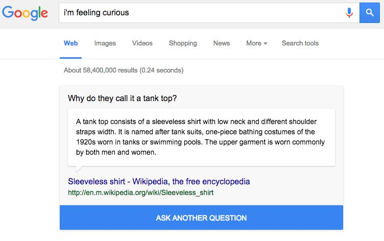 Google search has a new Easter egg that will make you really good at trivia