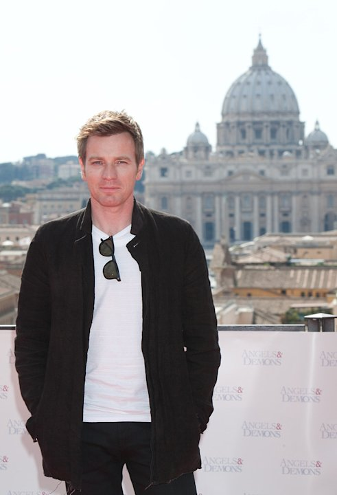 Angels and Demons Rome Premiere 2009 Ewan McGregor