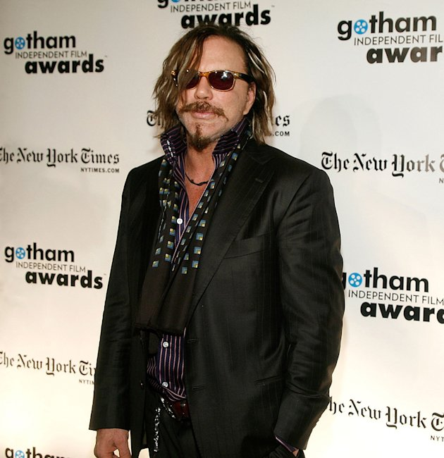 18th Annual Gotham Independent Film Awards NY 2008 Mickey Rourke