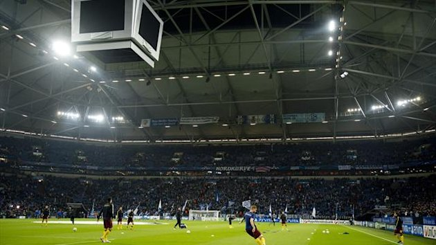 FOOTBALL - 2012/2013 - Schalke 04 - Veltins Arena