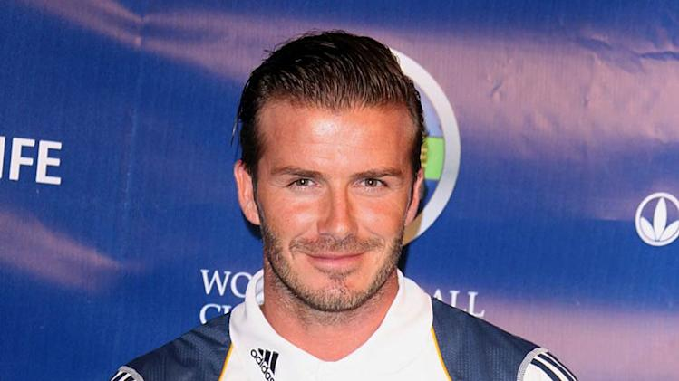 David Beckham World Football Chllng