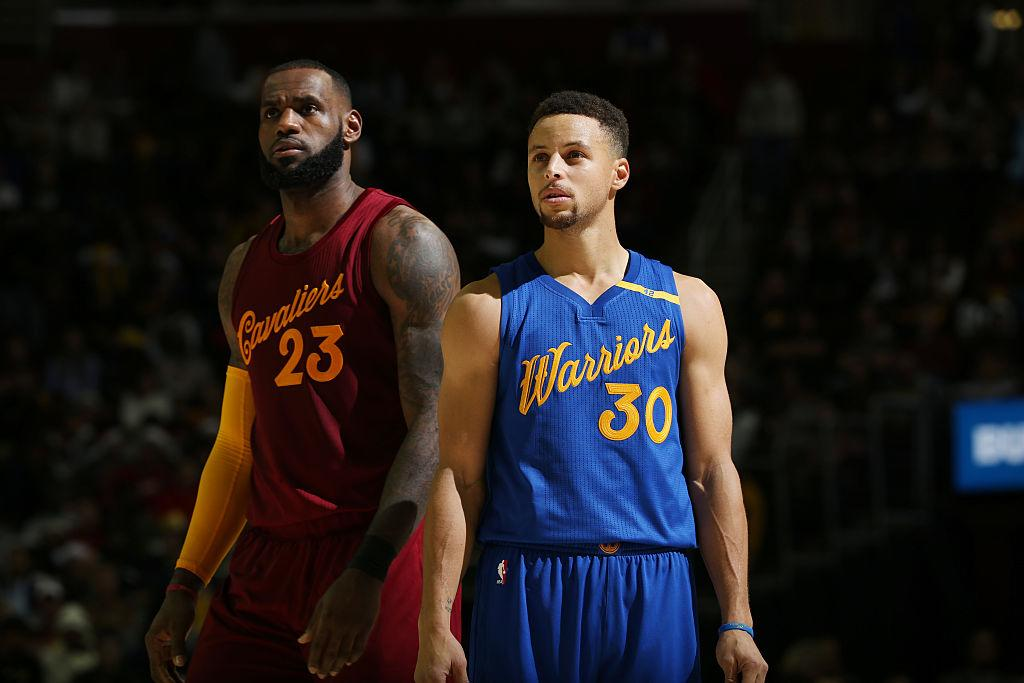 The peerless LeBron James still doesn't think the Warriors are his rivals