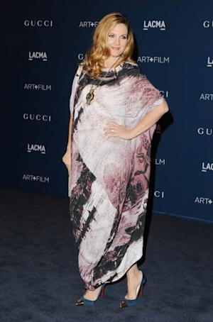 Drew Barrymore arrives at LACMA 2013 Art + Film Gala at LACMA on November 2, 2013 in Los Angeles -- Getty Images