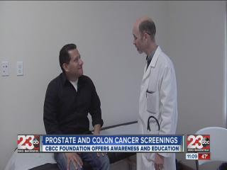 Many People Take Part In Free Prostate And Colon Cancer Screenings