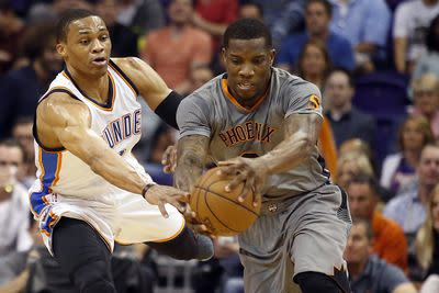 NBA schedule and results: Suns, Thunder battle for the No. 8 spot