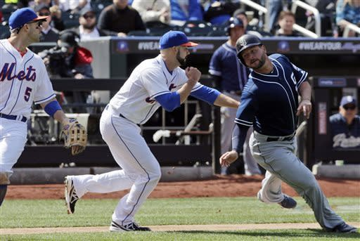 Stults, Gyorko lead Padres past Mets for 1st win