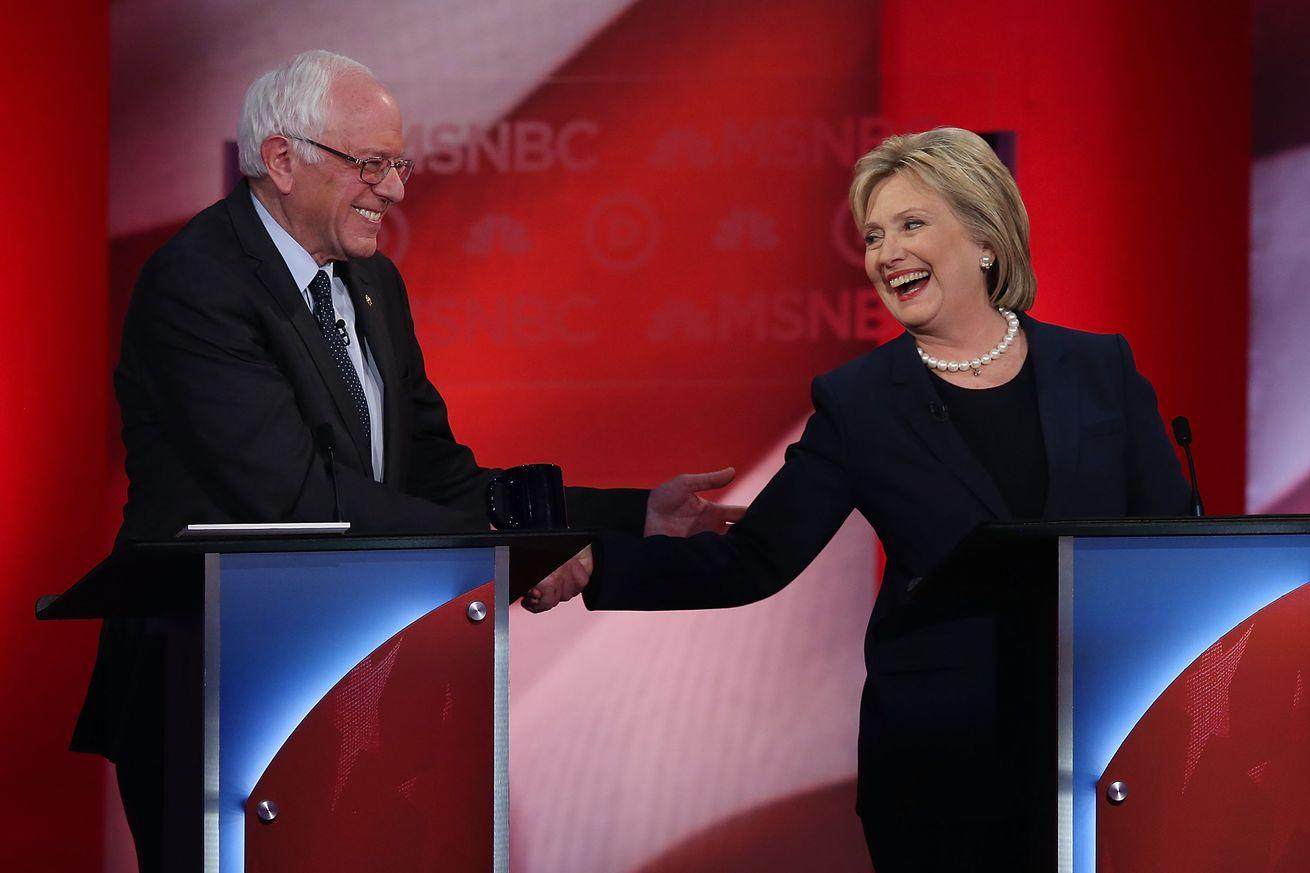 Bernie Sanders's strong campaign is solving Hillary Clinton's biggest problem