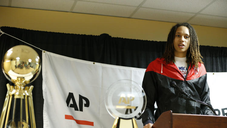 NCAA Womens Basketball: AP Player and Coach of the Year Press Conference
