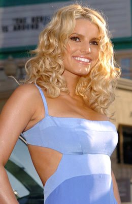 Jessica Simpson at the Hollywood premiere of Warner Bros. Pictures' The Dukes of Hazzard