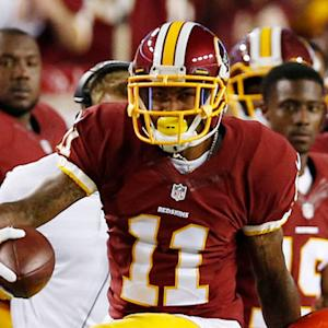 Washington Redskins wide receiver DeSean Jackson 23-yard reception