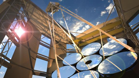 Giant Telescope Mirror for Future Observatory to Be Cast Saturday