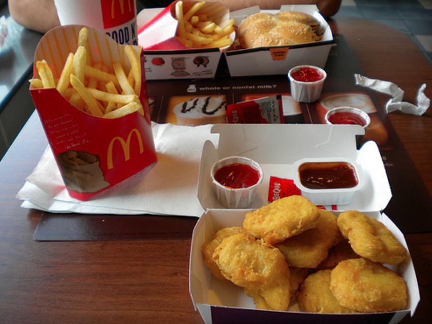 What happens when you eat at 46 McDonald's restaurants in one day