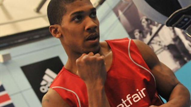 A clinical professional debut from Anthony Joshua