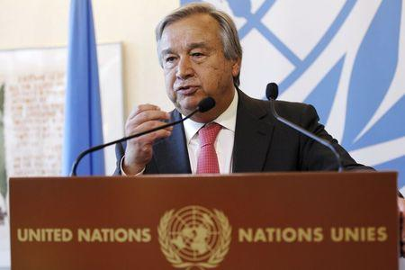 Head of U.N. refugee agency to step down this year