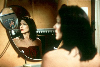 Laura Harring as Rita in Universal Focus' Mulholland Drive