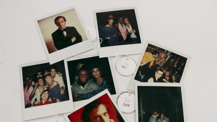 Items from famed nightclub Studio 54 go to auction