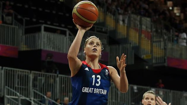 Great Britain's Johannah Leedham
