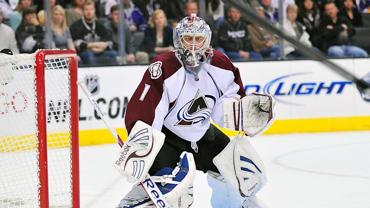 NHL: Colorado Avalanche at Los Angeles Kings
