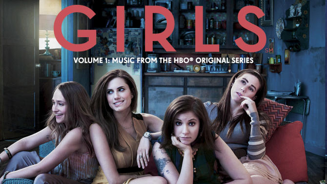 """This CD cover image released by Atlantic Records shows """"Girls Soundtrack Volume 1: Music From The HBO Original Series."""" (AP Photo/Atlantic Records)"""